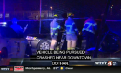 Dothan high-speed chase leads to Sunday night wreck